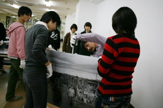 2011NVA写真展搬入