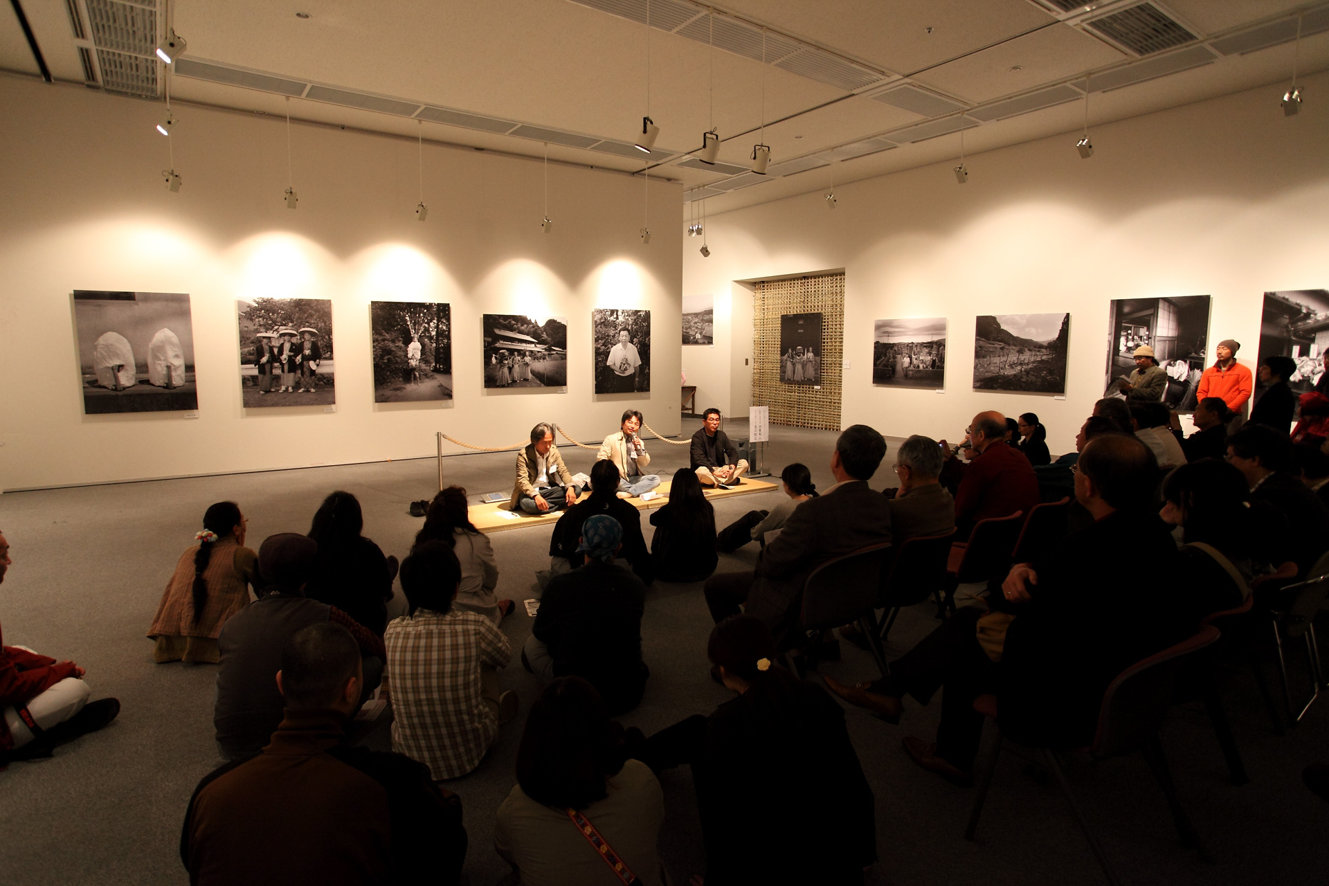 20100322松原豊写真展村の記憶/中里和人×吉川和之×松原豊トークショー