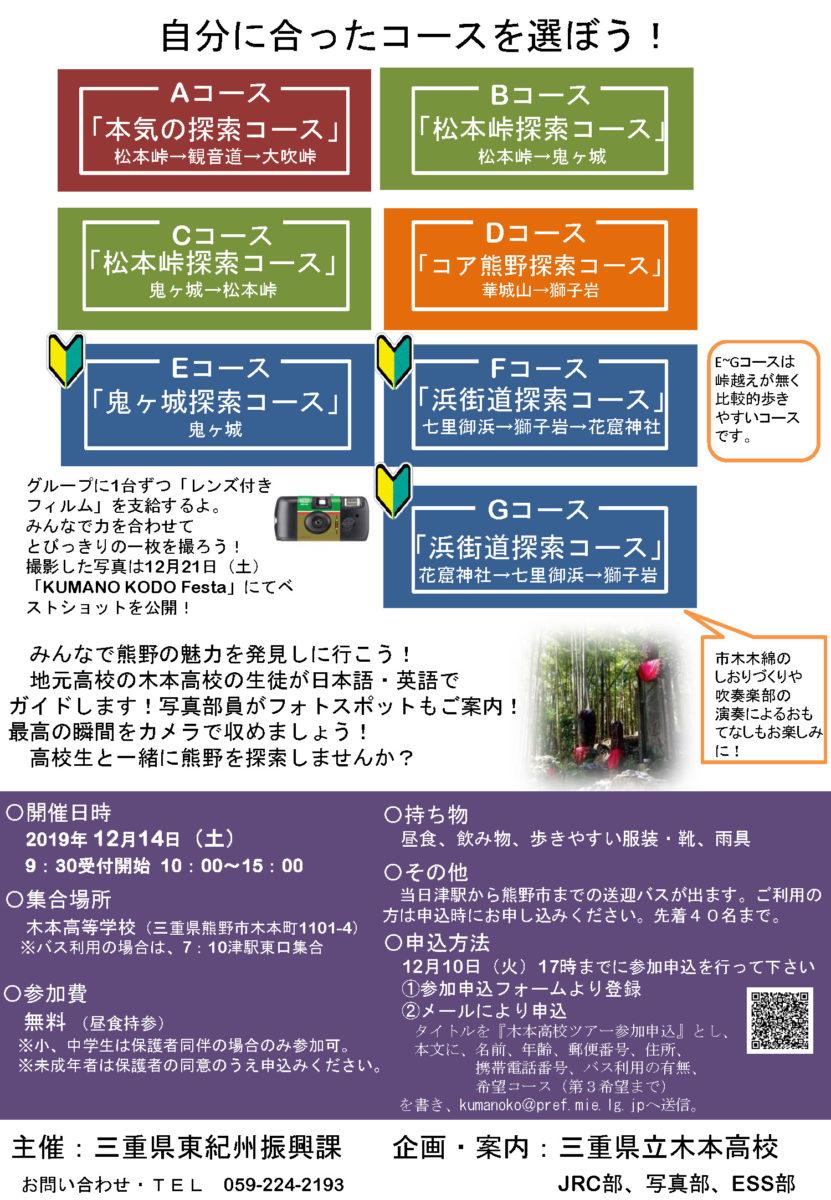 2019木本高校WS募集チラシ(裏面)