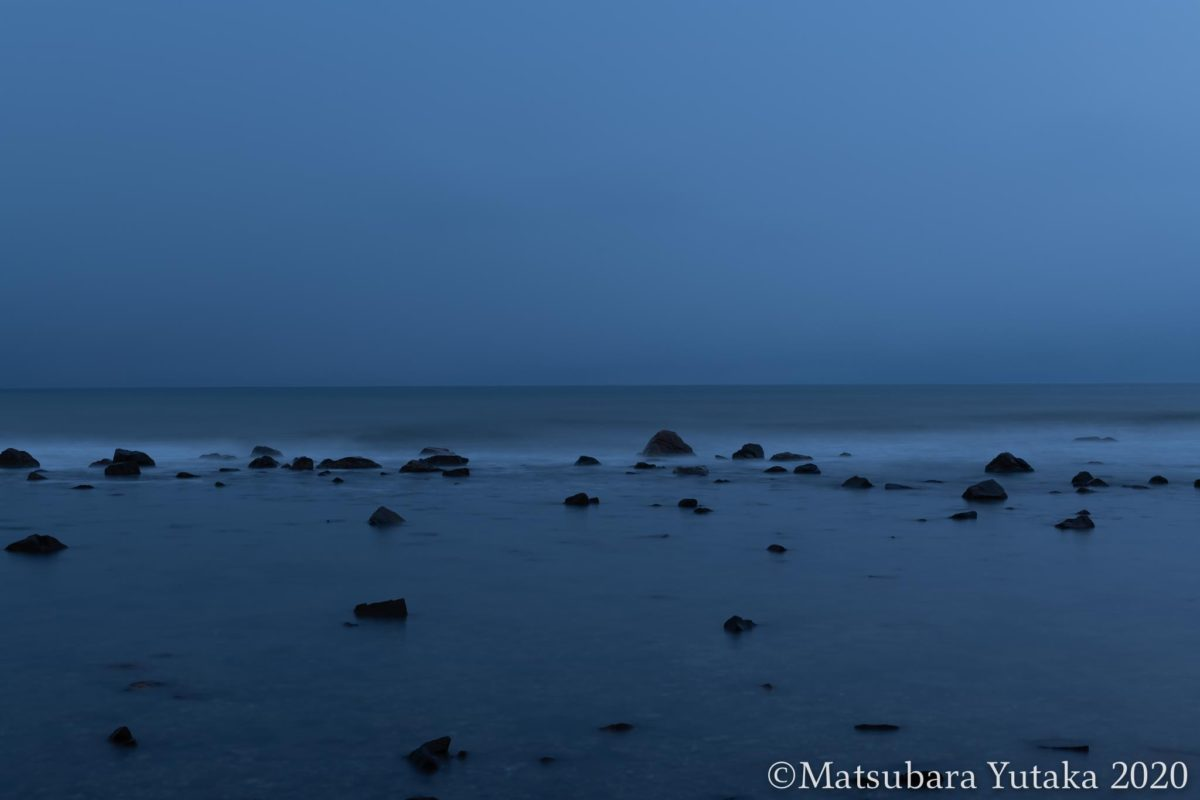 2020 Hakui City, Ishikawa Prefecture Evening Sea of Japan