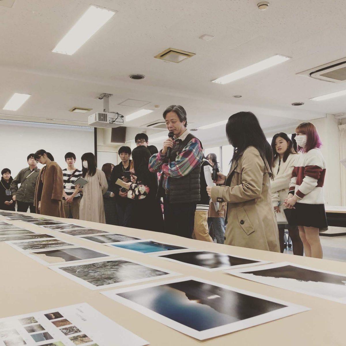 2019年度名古屋ビジュアルアーツ写真学科飯沢氏作品講評