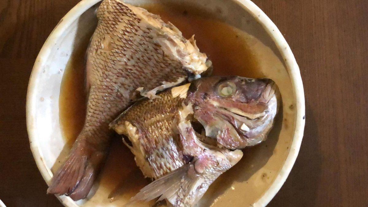 三重の養殖真鯛を食う