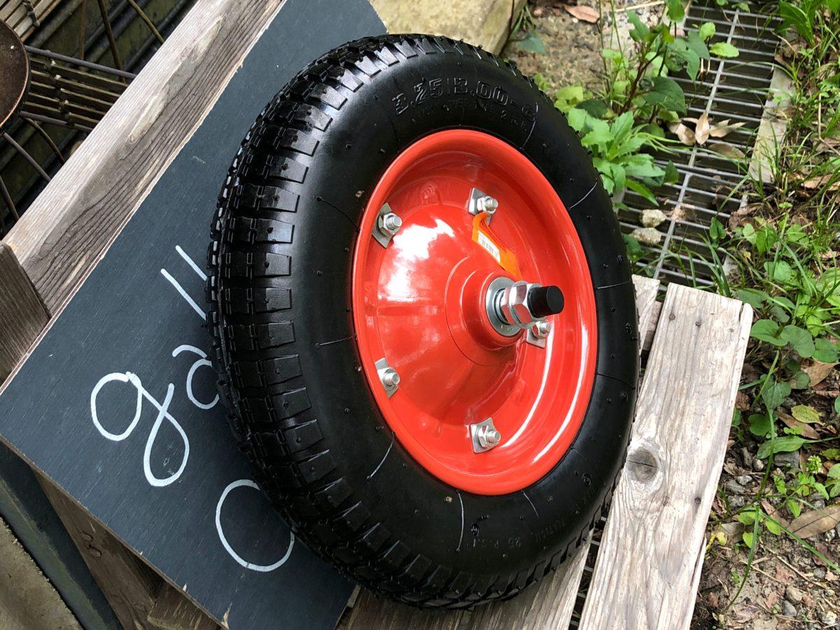 200517新しい一輪車の輪