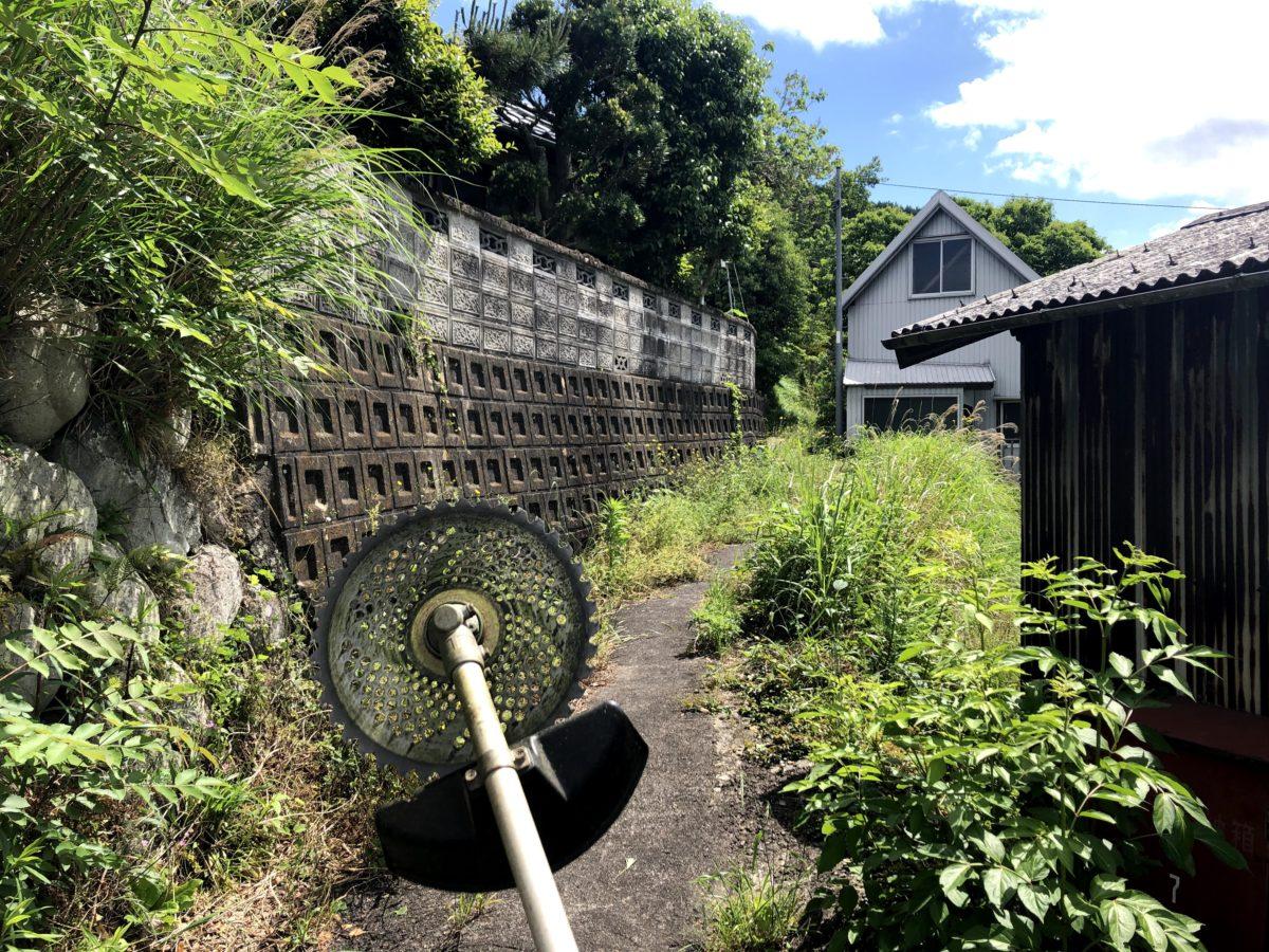 2020.05.21三重美里三郷家家の周辺草刈り作業