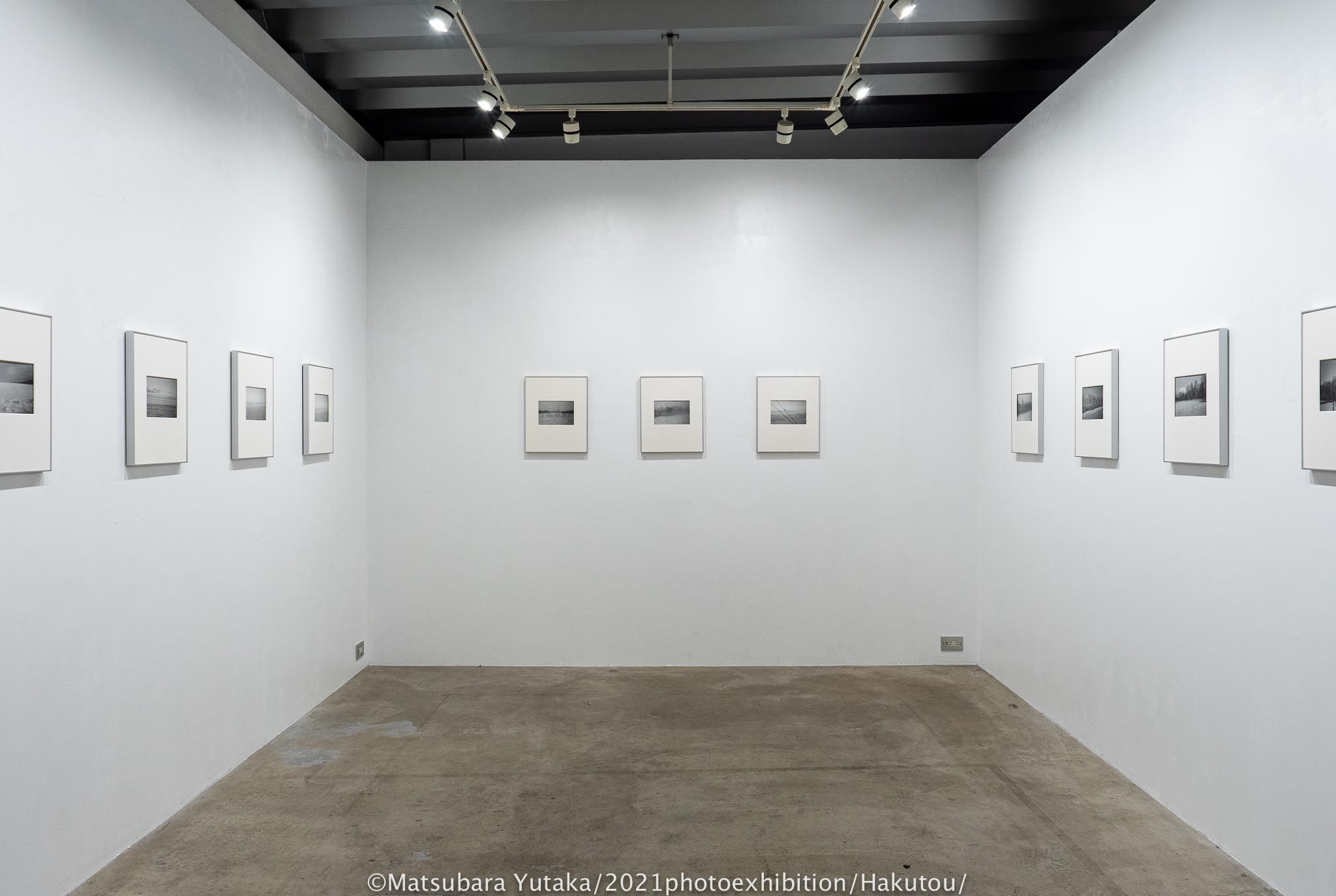 2021年2月松原豊写真展「白冬」gallery176