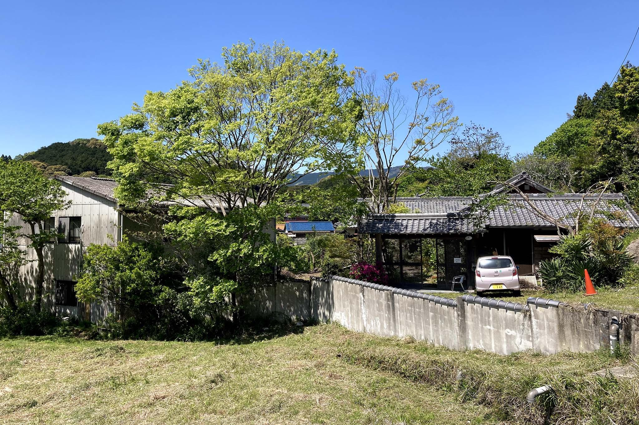 2021年4月三重県津市美里町三郷 里山の元畑